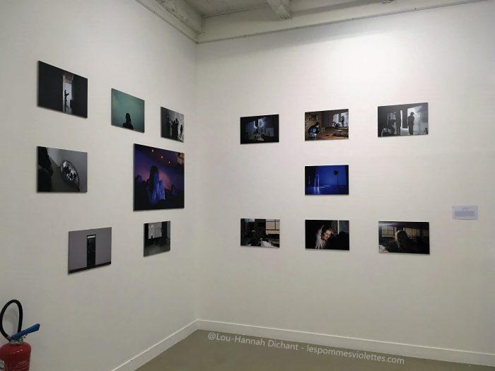 Photo du coin de la galerie où ont été exposée mes photos